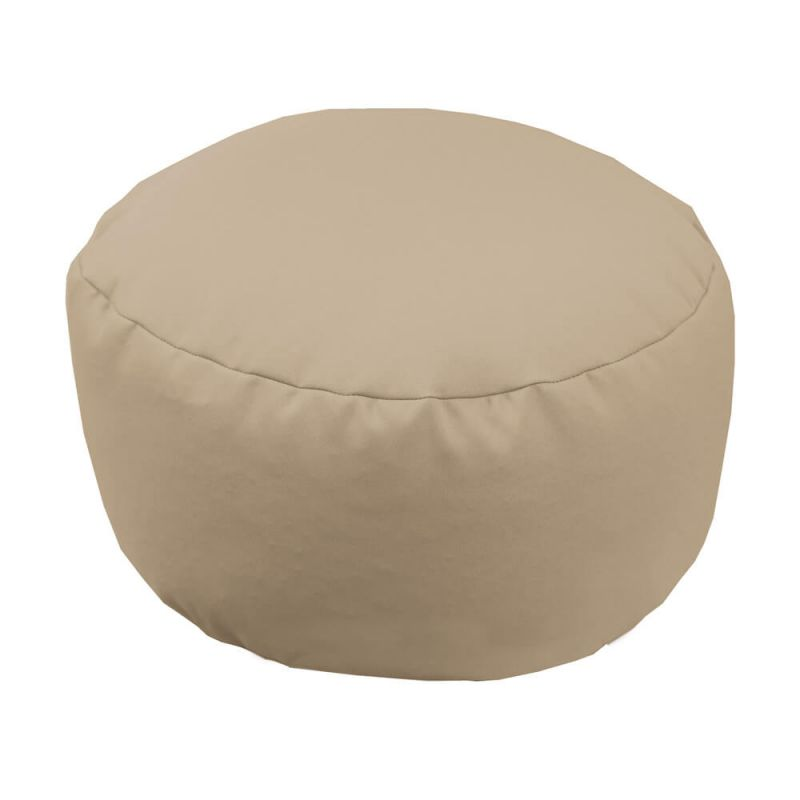 Vibe Footstool Bean Bag - Stone