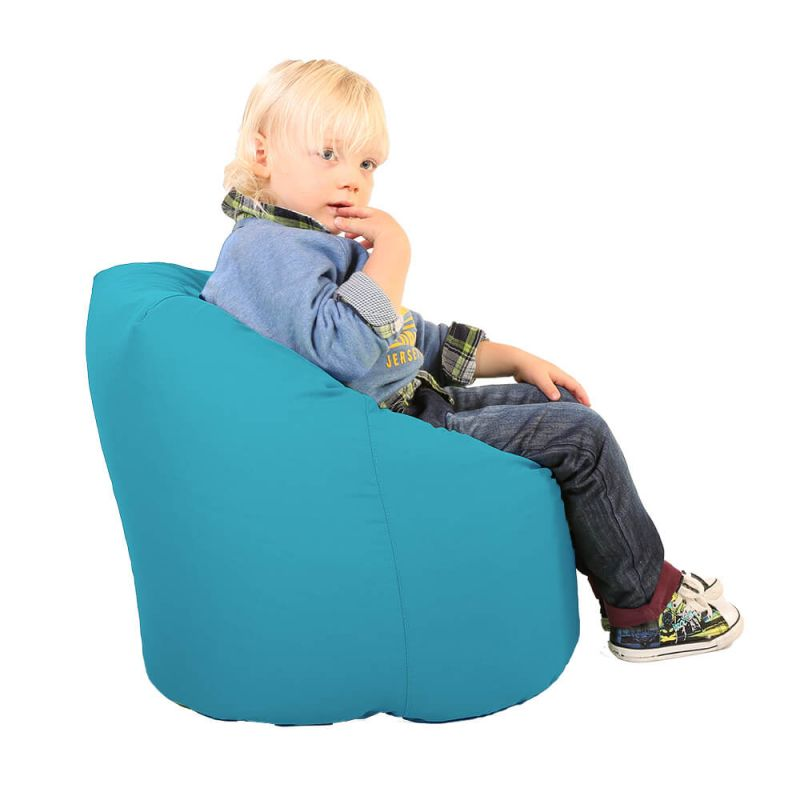 Indoor & Outdoor Toddler Handle Bean Bag - Turquoise