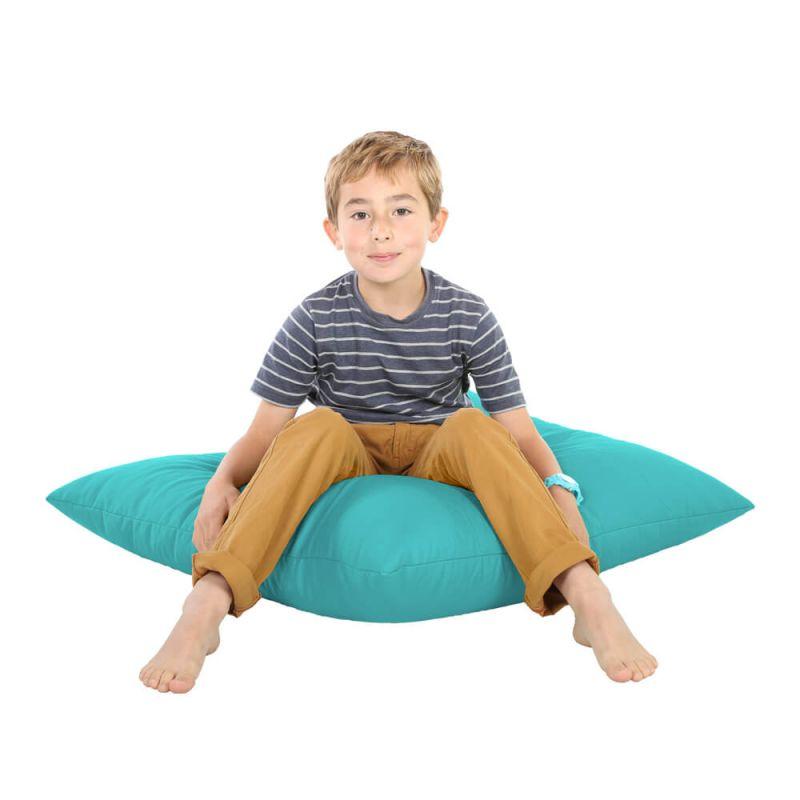 Indoor & Outdoor Giant Floor Cushion Bean Bag - Turquoise