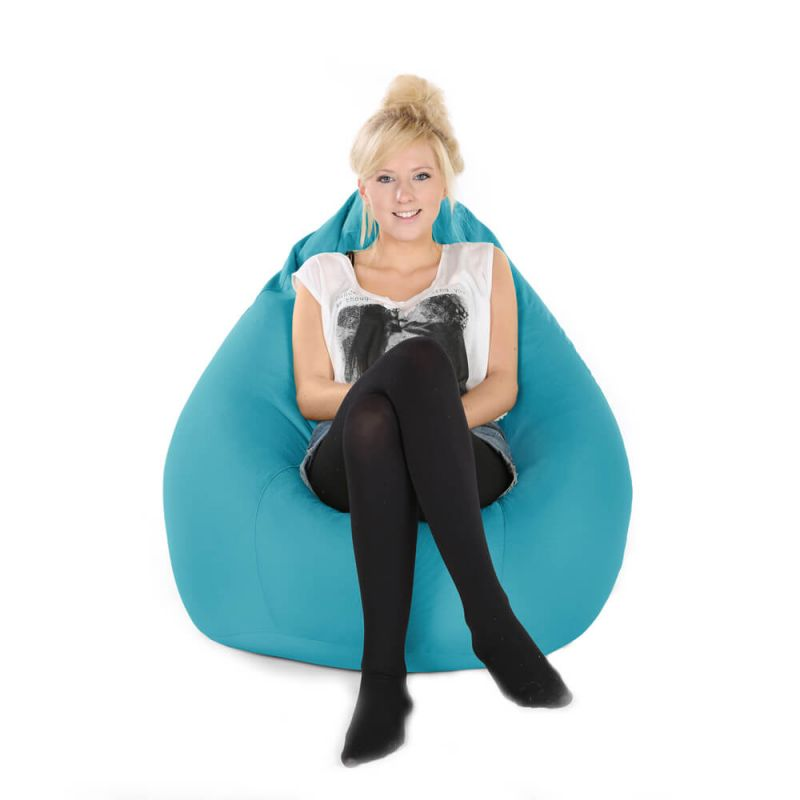 Indoor & Outdoor XXL Gaming Pod Bean Bag - Turquoise