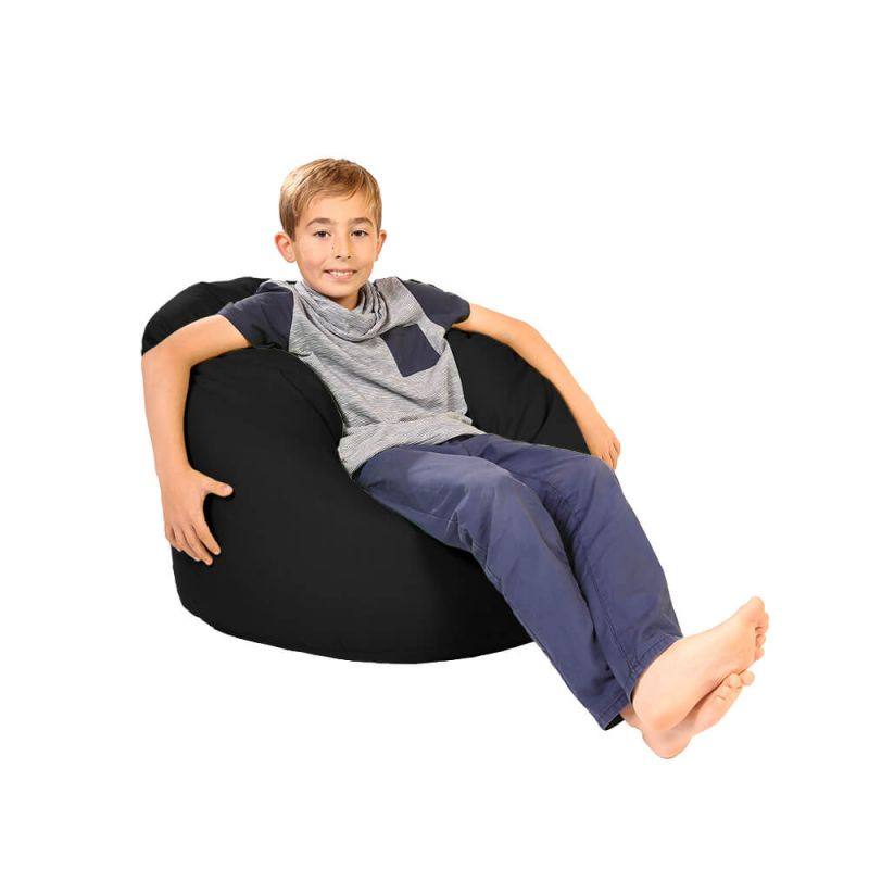 Vibe Childs Handle Bean Bag - Black
