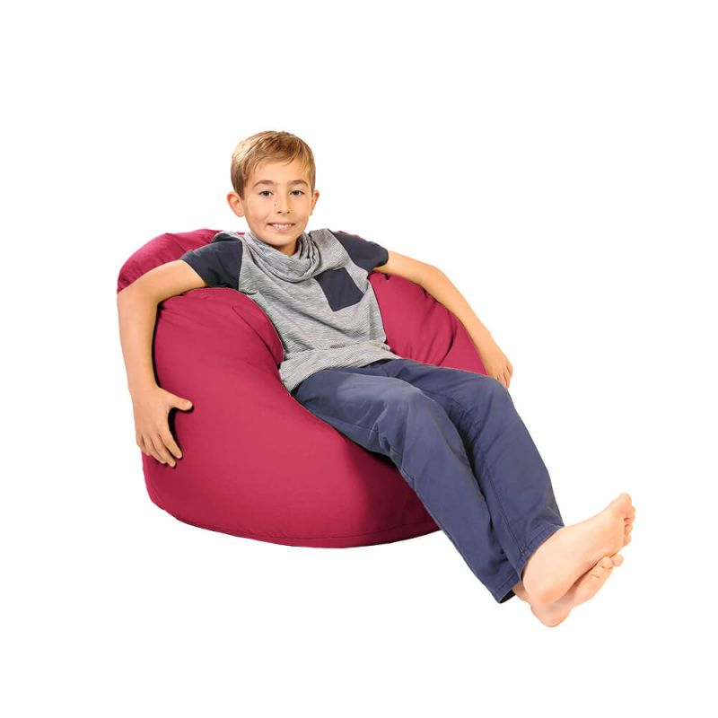 Vibe Childs Handle Bean Bag - Cerise Pink