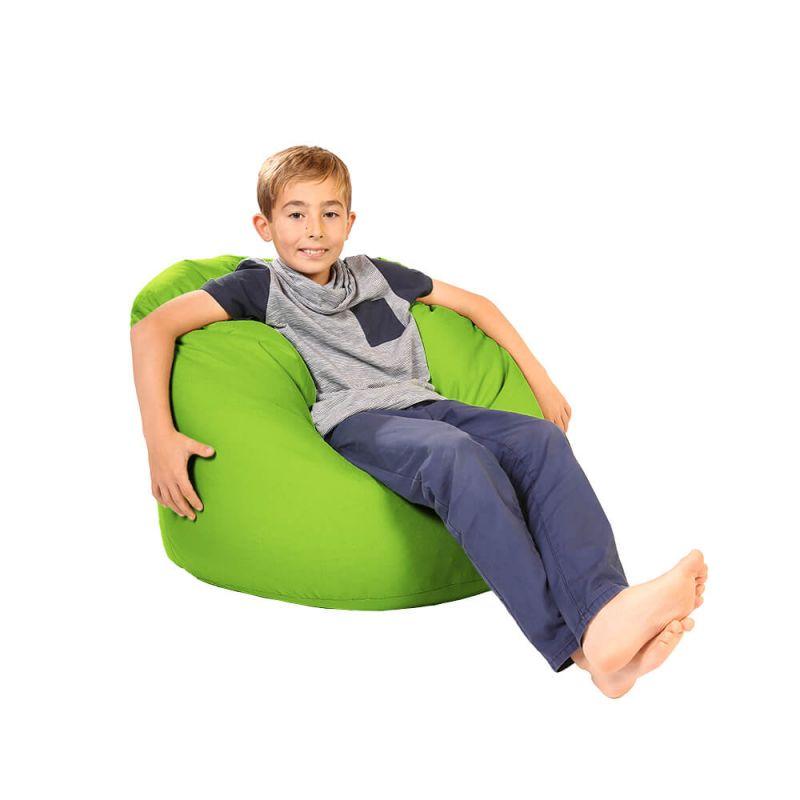 Vibe Childs Handle Bean Bag - Lime Green