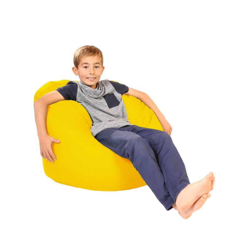 Vibe Childs Handle Bean Bag - Yellow