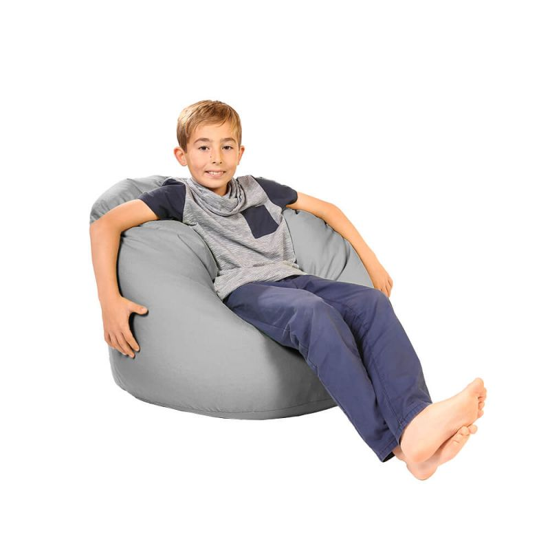 Vibe Childs Handle Bean Bag - Platinum Grey