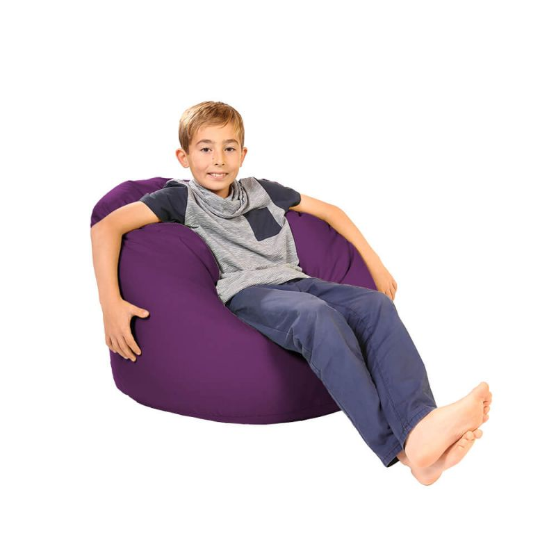 Vibe Childs Handle Bean Bag - Purple