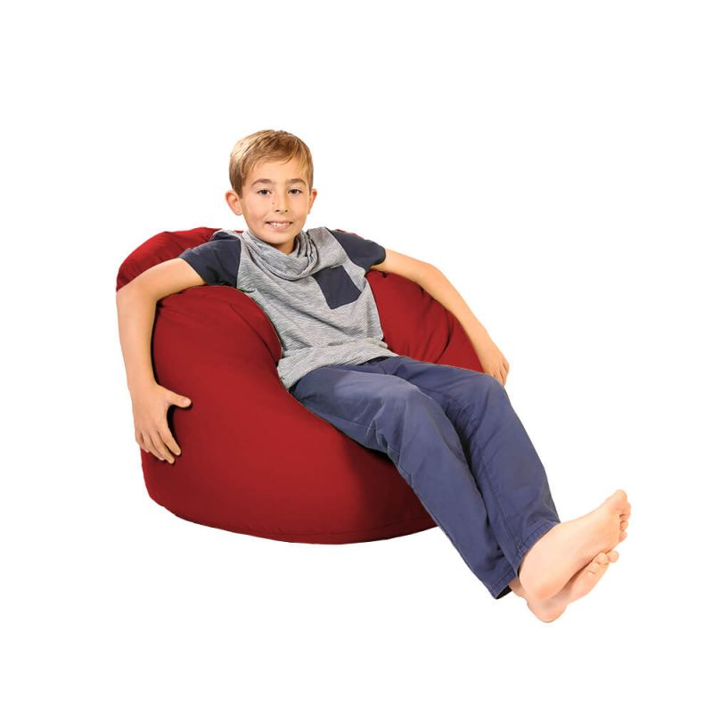 Vibe Childs Handle Bean Bag - Red