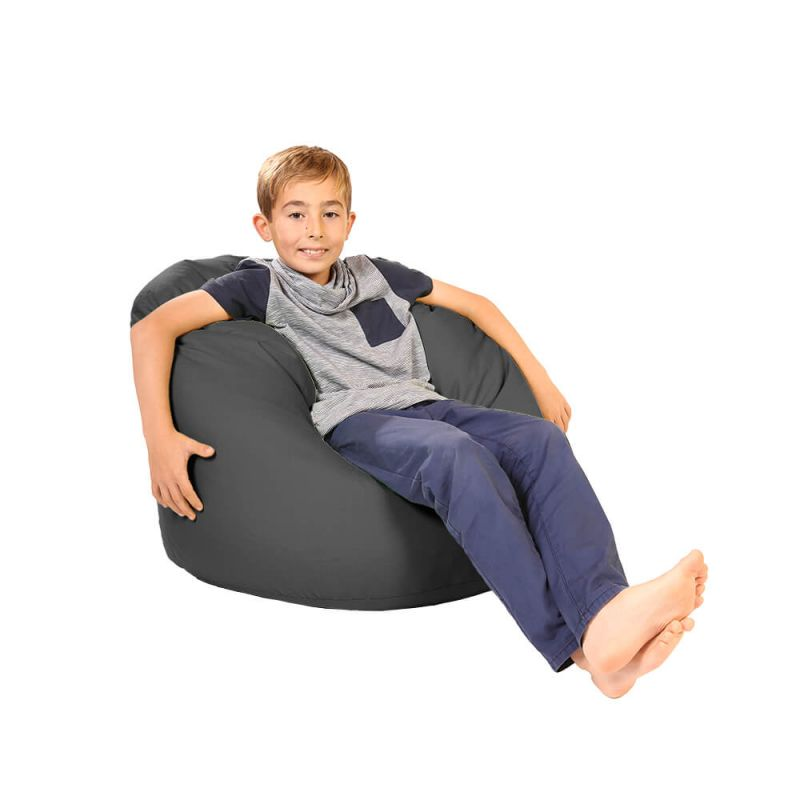 Vibe Childs Handle Bean Bag - Slate Grey