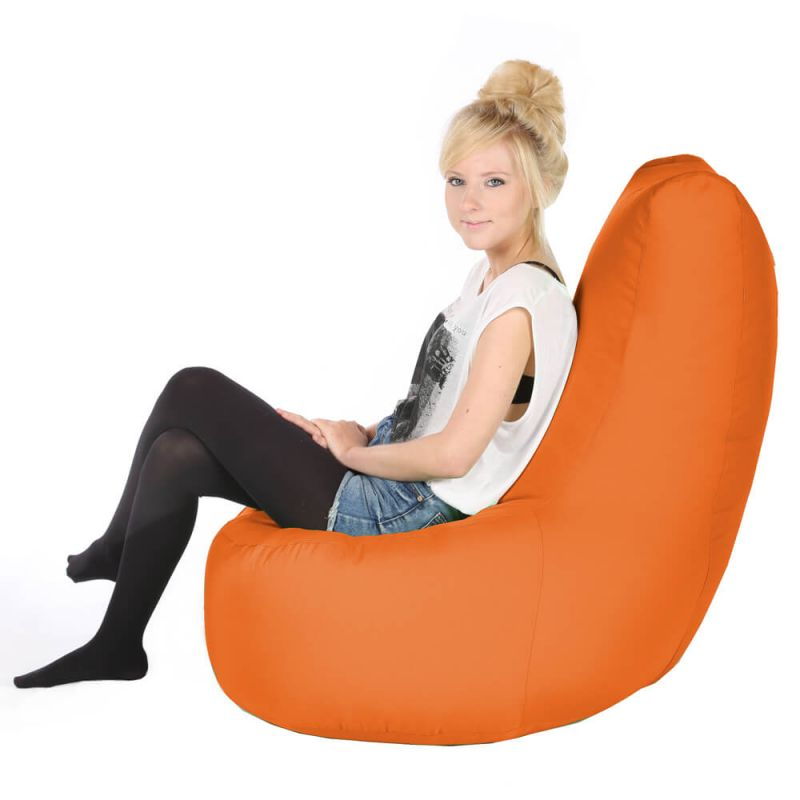 Vibe Giant Comfy Chair - Orange
