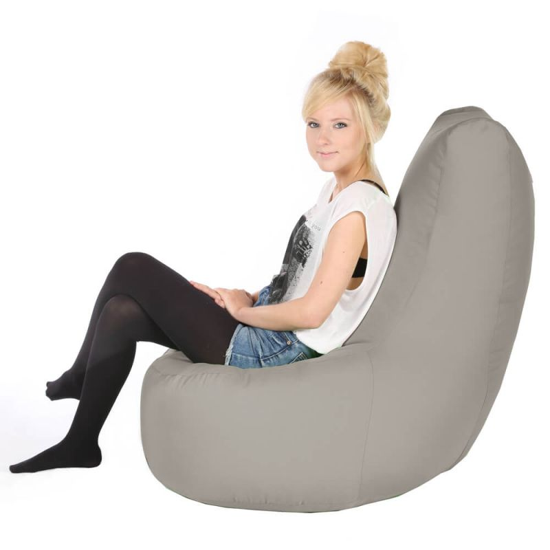 Vibe Giant Comfy Chair - Platinum Grey