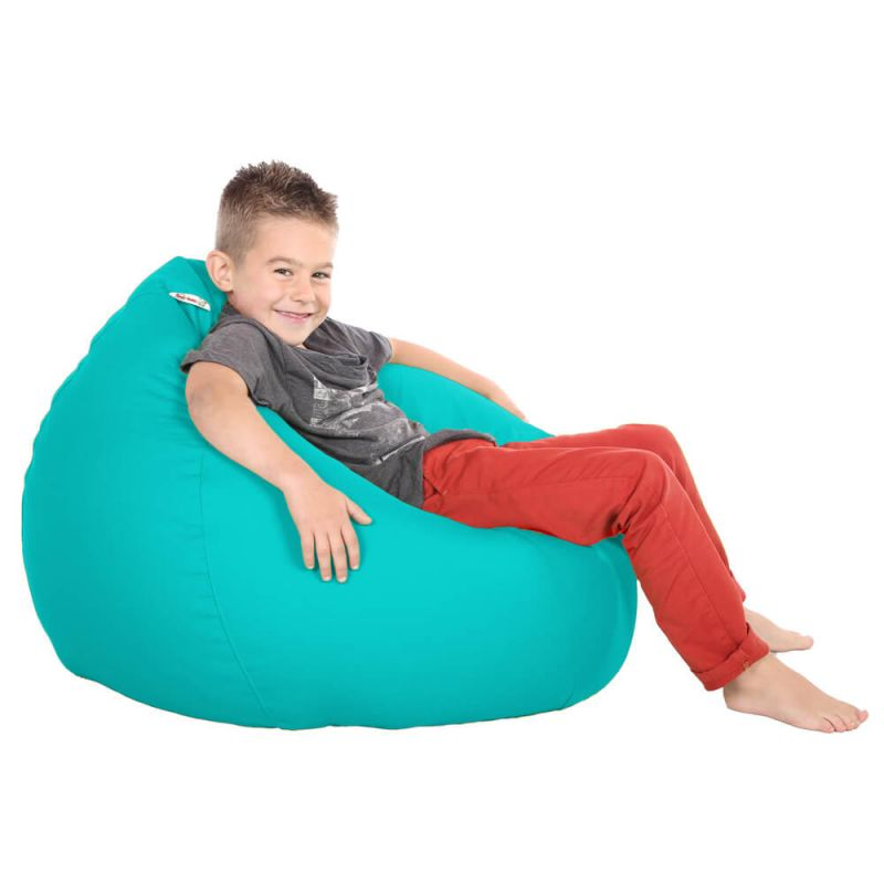 Vibe Kids Tall Gamer Bean Bag - Aquamarine