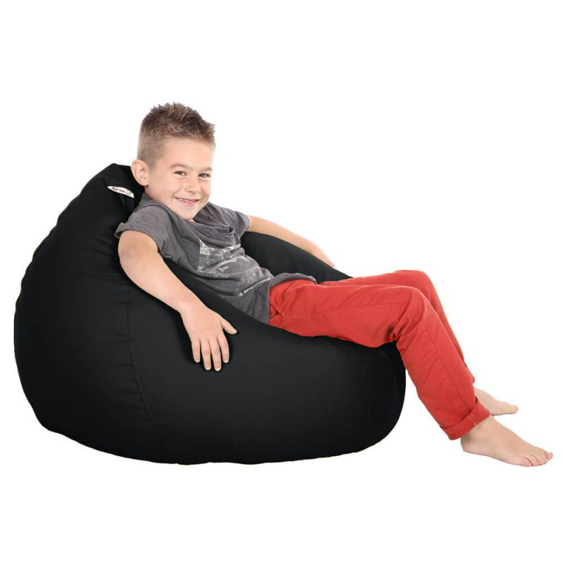 Vibe Kids Tall Gamer Bean Bag - Black