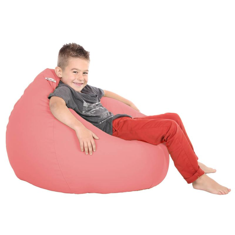 Vibe Kids Tall Gamer Bean Bag - Coral