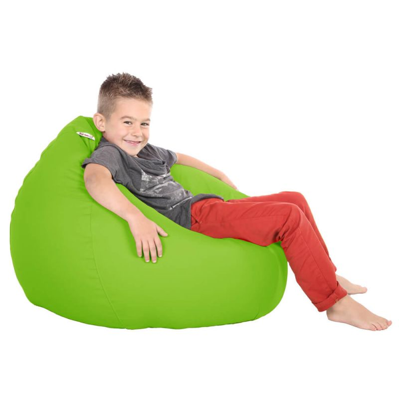 Vibe Kids Tall Gamer Bean Bag - Lime Green