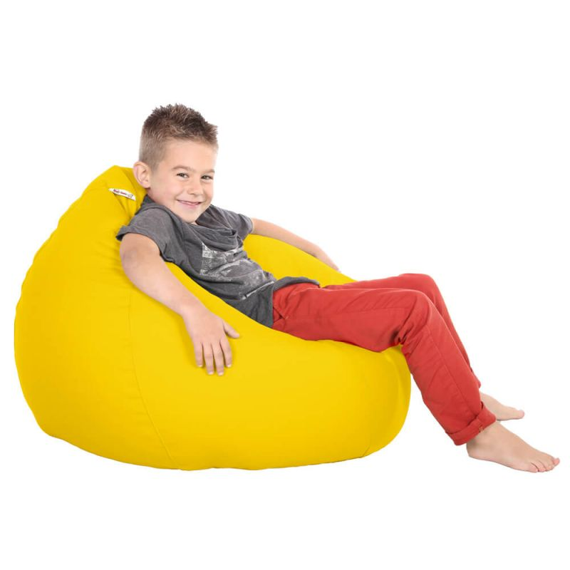 Vibe Kids Tall Gamer Bean Bag - Yellow