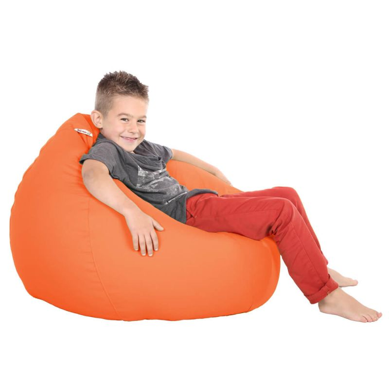 Vibe Kids Tall Gamer Bean Bag - Orange