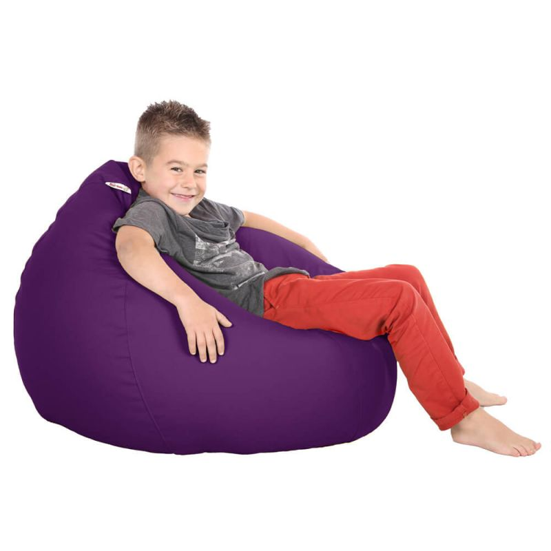 Vibe Kids Tall Gamer Bean Bag - Purple