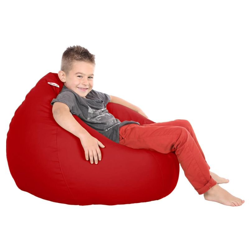 Vibe Kids Tall Gamer Bean Bag - Red