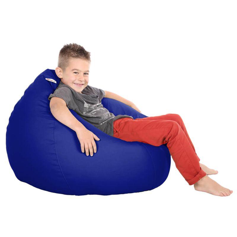 Vibe Kids Tall Gamer Bean Bag - Royal Blue