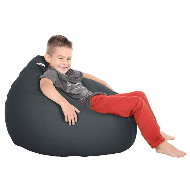 Vibe Kids Tall Gamer Bean Bag - Slate Grey