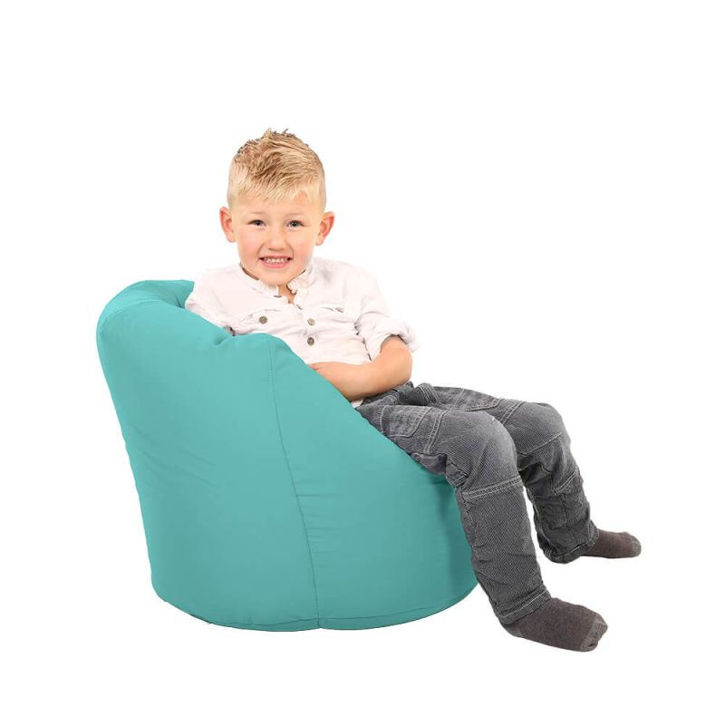 Vibe Toddler Handle Bean Bag - Aquamarine