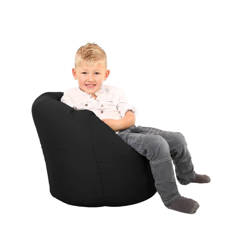 Vibe Toddler Handle Bean Bag - Black