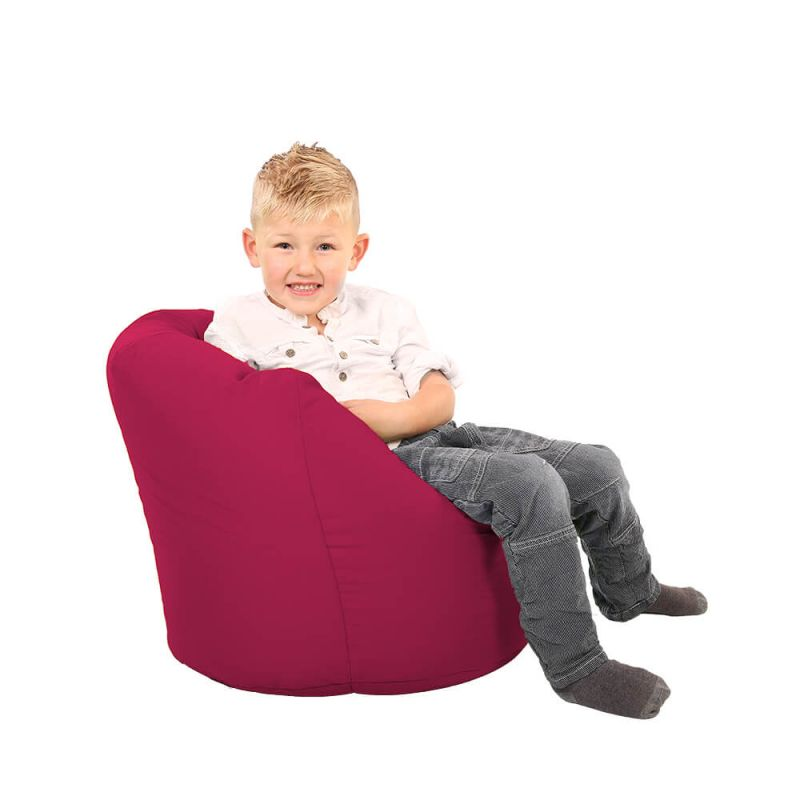 Vibe Toddler Handle Bean Bag - Cerise Pink