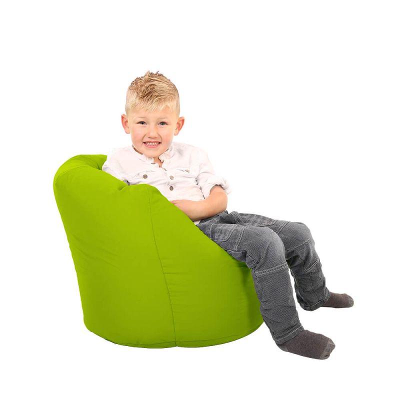 Vibe Toddler Handle Bean Bag - Lime Green