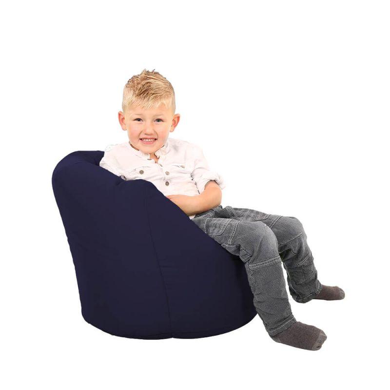 Vibe Toddler Handle Bean Bag - Navy Blue