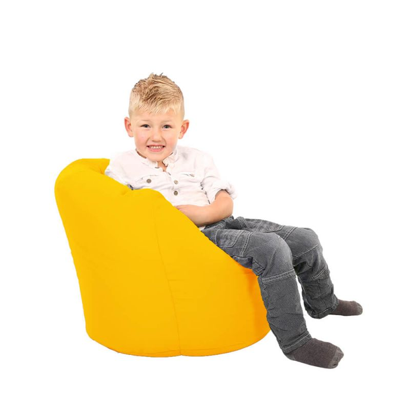 Vibe Toddler Handle Bean Bag - Yellow