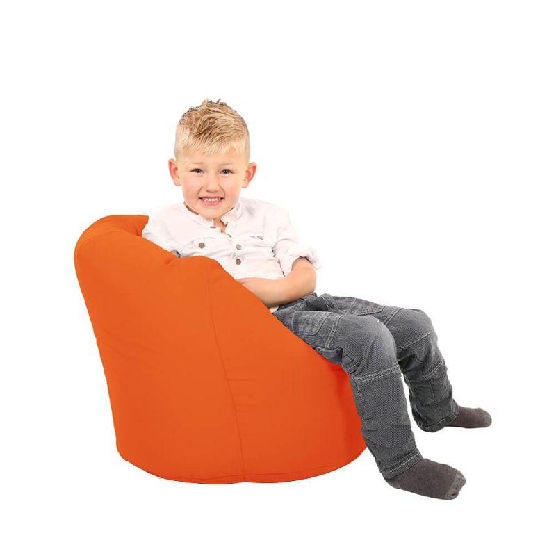 Vibe Toddler Handle Bean Bag - Orange