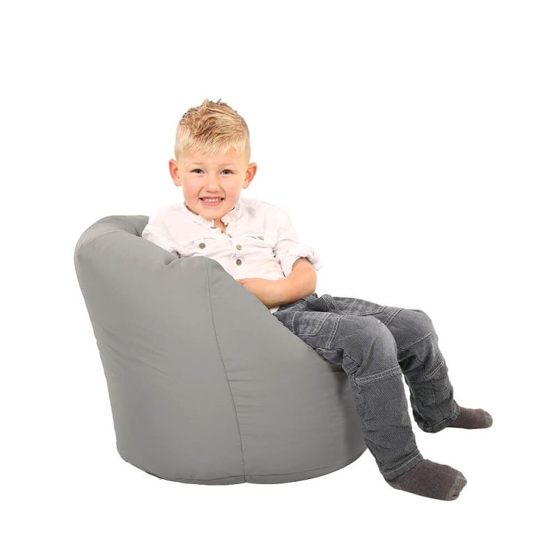 Vibe Toddler Handle Bean Bag - Platinum Grey