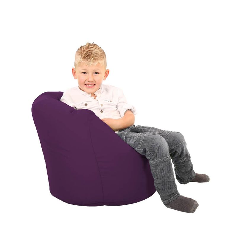 Vibe Toddler Handle Bean Bag - Purple