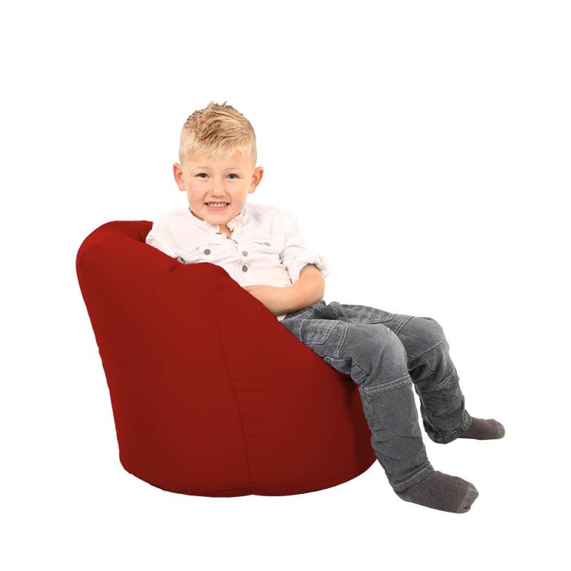 Vibe Toddler Handle Bean Bag - Red