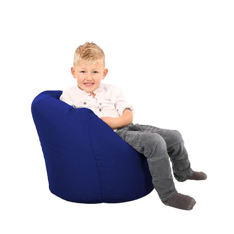 Vibe Toddler Handle Bean Bag - Royal Blue