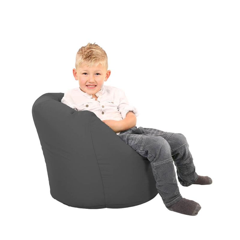 Vibe Toddler Handle Bean Bag - Slate Grey