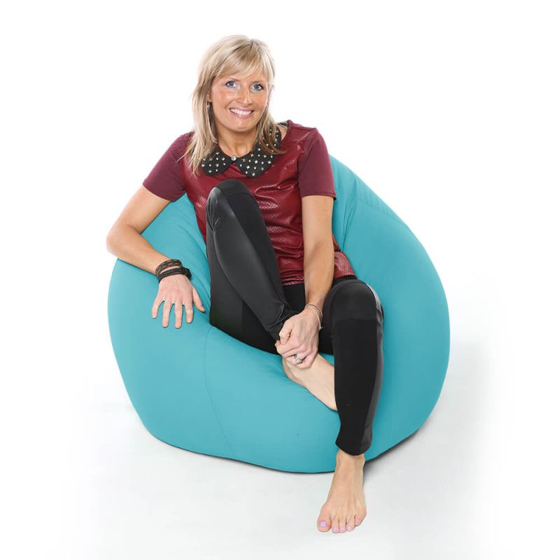 Vibe XXL Gaming Pod Bean Bag - Aquamarine