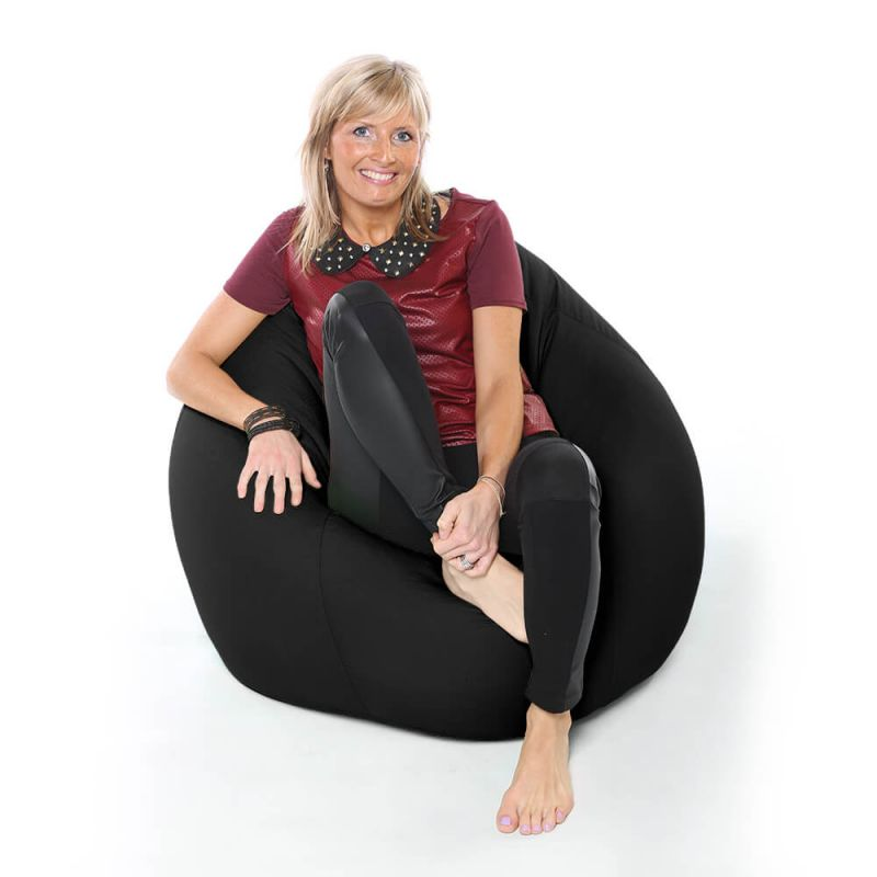 Vibe XXL Gaming Pod Bean Bag - Black
