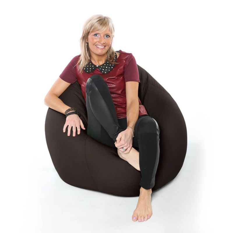 Vibe XXL Gaming Pod Bean Bag - Brown