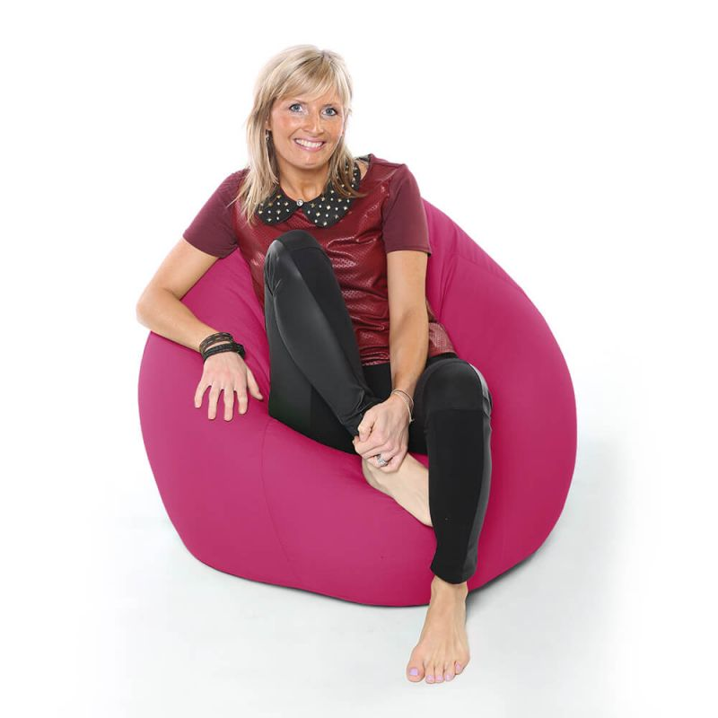Vibe XXL Gaming Pod Bean Bag - Cerise Pink