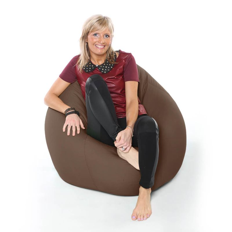 Vibe XXL Gaming Pod Bean Bag - Chocolate Brown