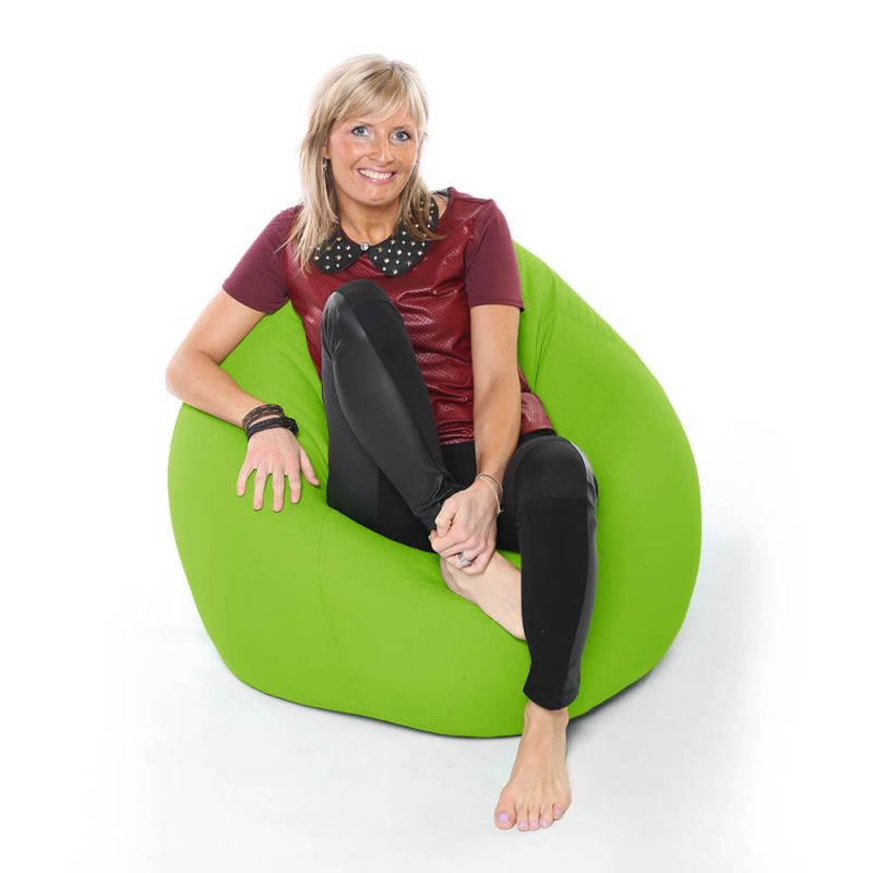Vibe XXL Gaming Pod Bean Bag - Lime Green