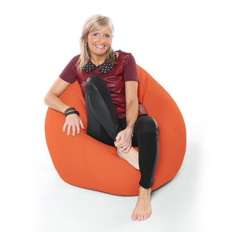 Vibe XXL Gaming Pod Bean Bag - Orange