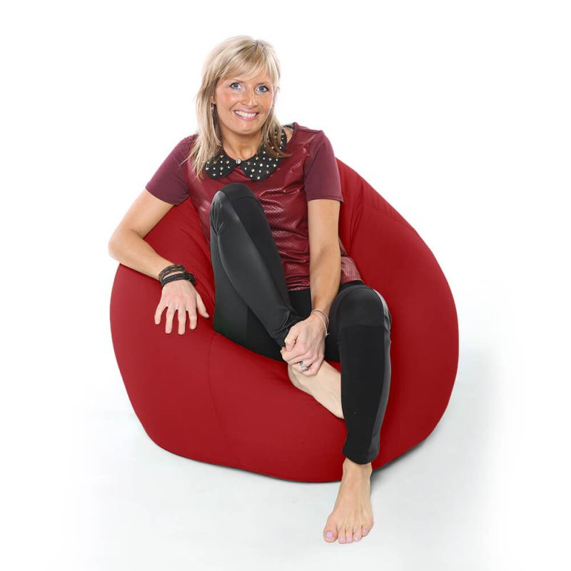 Vibe XXL Gaming Pod Bean Bag - Red