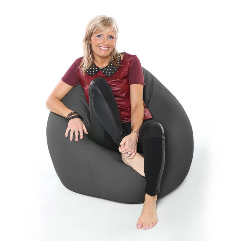 Vibe XXL Gaming Pod Bean Bag - Slate Grey