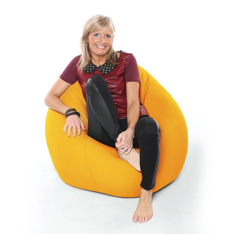 Vibe XXL Gaming Pod Bean Bag - Yellow