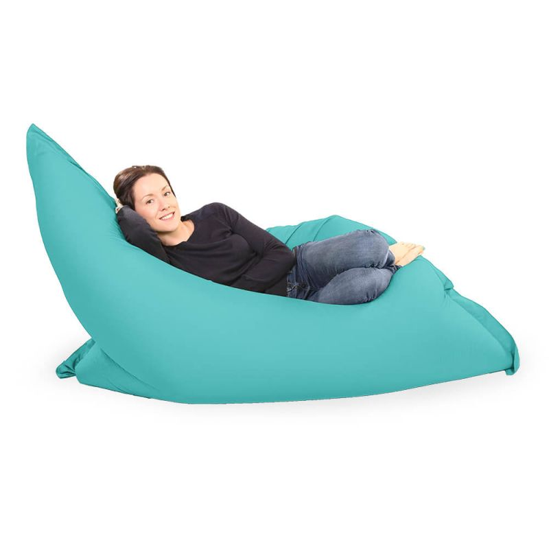 Giant Adult Beanbag in Aquamarine