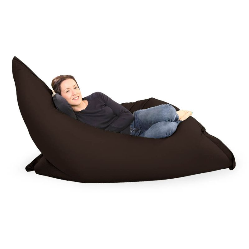 Giant Adult Beanbag in Brown