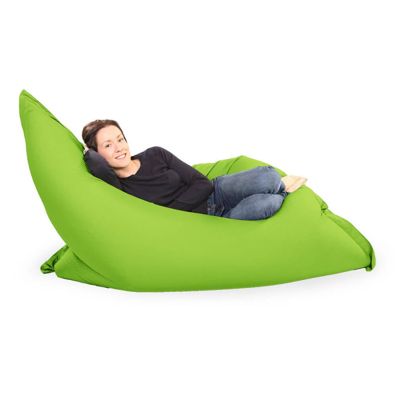 Giant Adult Beanbag in Lime Green