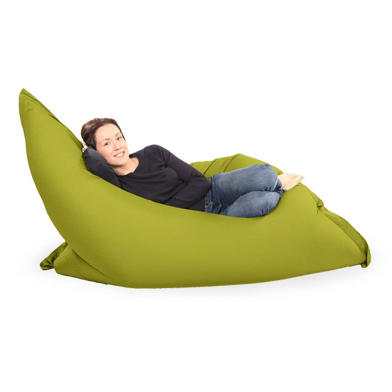 Giant Adult Beanbag in Olive Green
